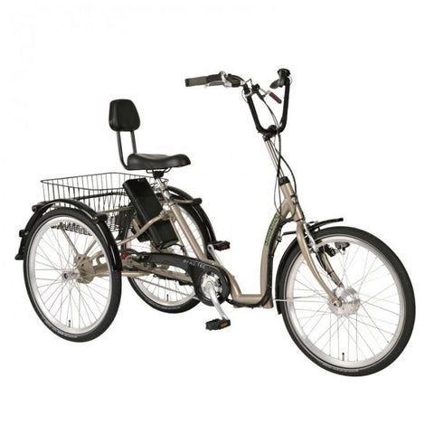 PFIFF Comfort 24 Ansmann Trike Electric Tricycle - Electric Bikes For All