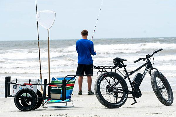 Rambo ALUMINUM FISHING CART R185 - Electric Bikes For All