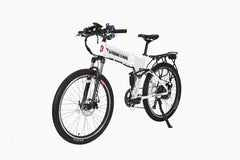 X-Treme Baja 48 Volt High Power Long Range Folding Electric Mountain Bicycle