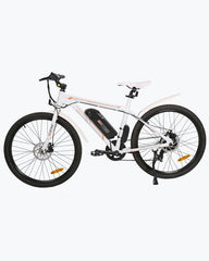 Ecotric Vortex Commuter and City 350W White Electric Bike - Electric Bikes For All
