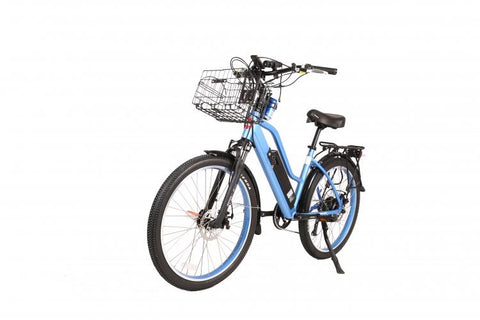 X-Treme Catalina Beach 48 Volt High Power Long Range Cruiser Step-Through E-Bike - Electric Bikes For All