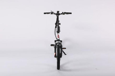 X-Treme NEW E-Rider 48 Volt Lithium Powered Mini Folding Electric Bicycle - Electric Bikes For All