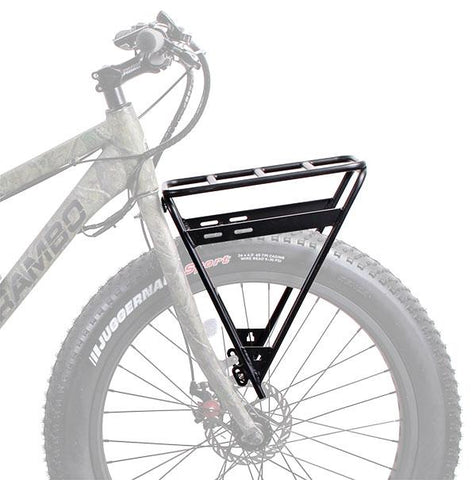 Rambo FRONT LUGGAGE RACK R151 - Electric Bikes For All