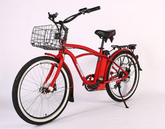 X-Treme Newport Elite Max 36 Volt Electric Beach Cruiser Bicycle
