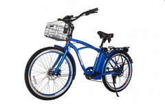 X-Treme Newport Elite Electric Beach Cruiser Bicycle