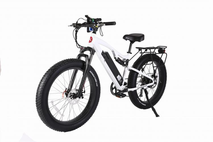 X-Treme Rocky Road 48 Volt High Power Long Range Fat Tire Electric Bicycle - Electric Bikes For All