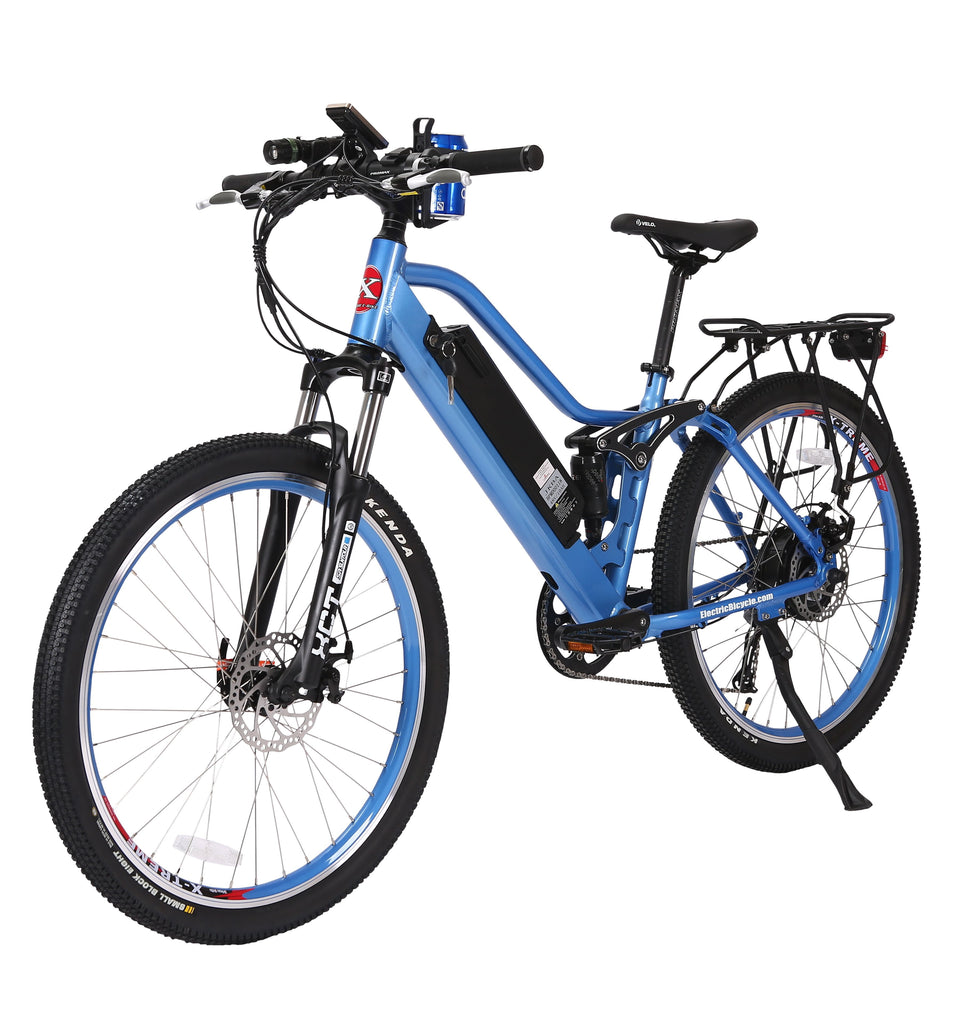 X-Treme Sedona 48 Volt High Power Long Range Electric Mountain Bicycle - Electric Bikes For All
