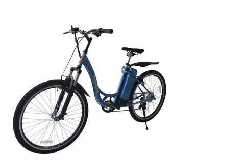 X-Treme Sierra Trails Elite SLA Lowest Cost Step Through Electric Mountain Bicycle - Electric Bikes For All