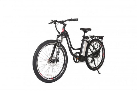 X-Treme Trail Climber Elite 24 Volt Step Through Electric Mountain Bicycle - Electric Bikes For All