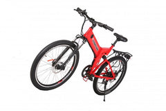 X-Treme X-Cursion Elite 24 Volt Fat Tire Folding Electric Mountain Bicycle