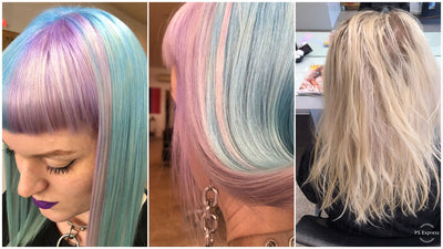 Brights and Pastel Hair Colour