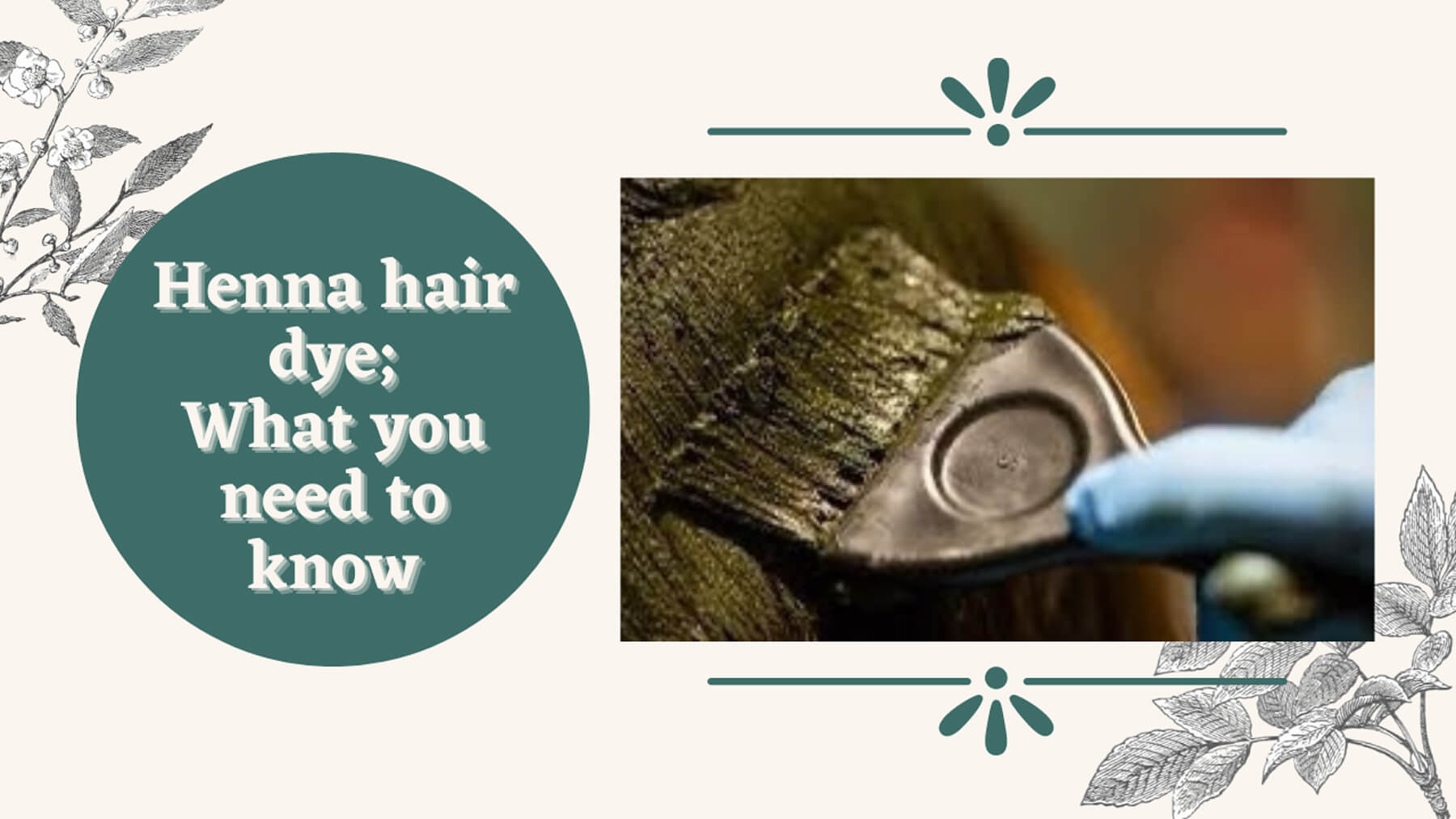What You Need to Know About Henna Hair Dye graphic