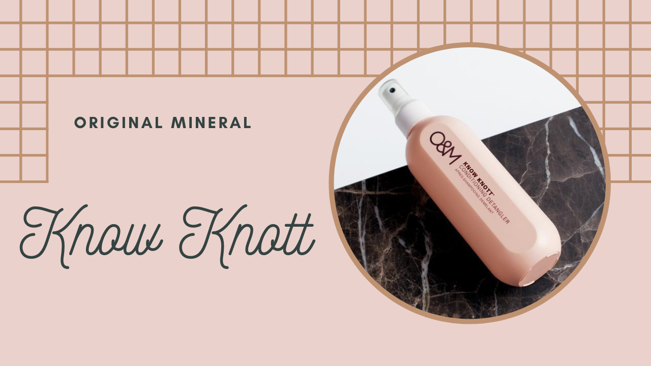 Know Knott Conditioning Detangler | Original Mineral