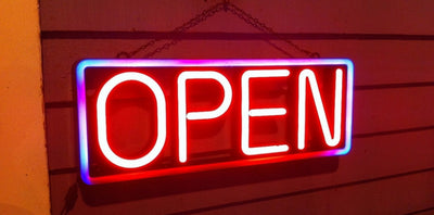 Yes We Are Open - Without a Time Limit Now
