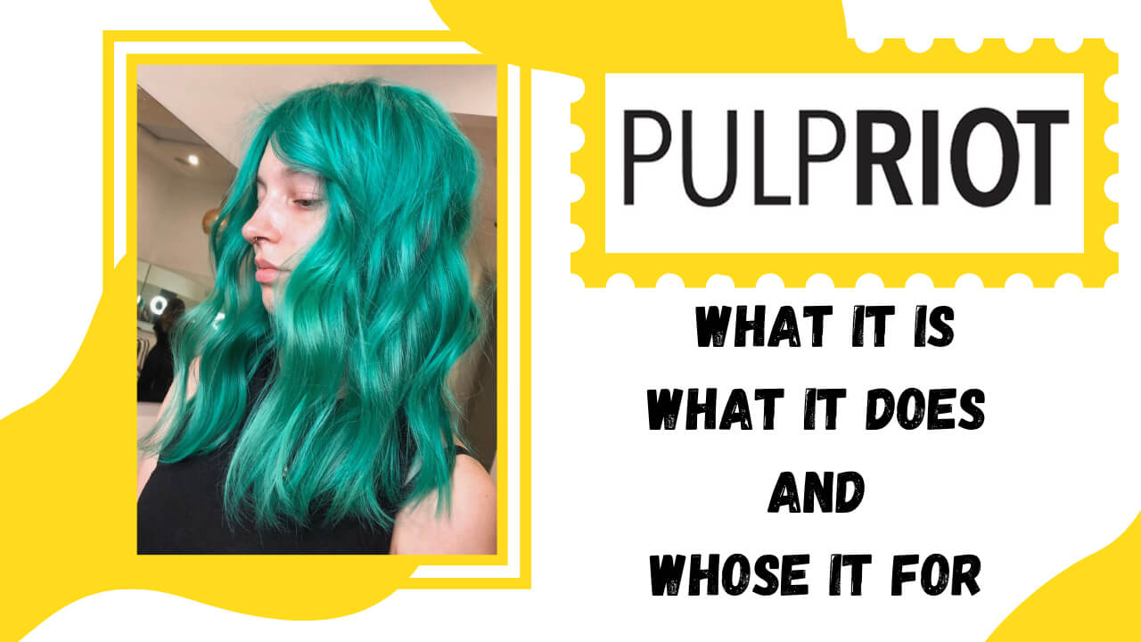 Pulp Riot Explained collage in white and yellow graphics