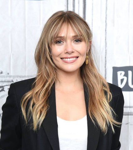 Elizabeth Olsen with lived in balayage