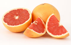 Cut up grapefruit