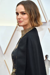 Natalie Portman with a blunt bob and subtle balayage