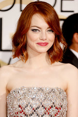 emma stone copper red hair