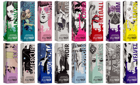 Pulp Riot semi-permanent colour range