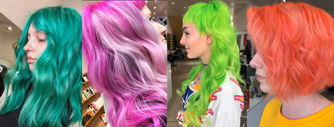 Looks created at Chumba using Pulp Riot