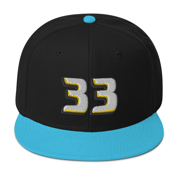 Grant Hill #33 1998-99 Snapback Hat-Player Number Hat-Coverage Gear