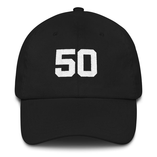 David Robinson #50 Dad Hat-Player Number Hat-Coverage Gear