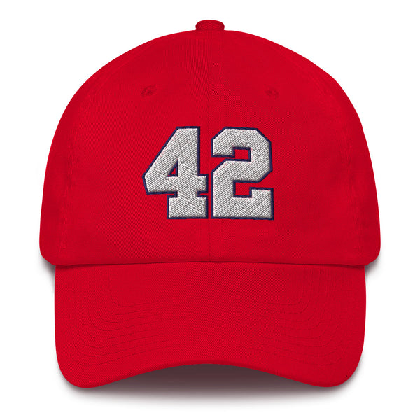 Elton Brand #42 Dad Hat-Player Number Hat-Coverage Gear