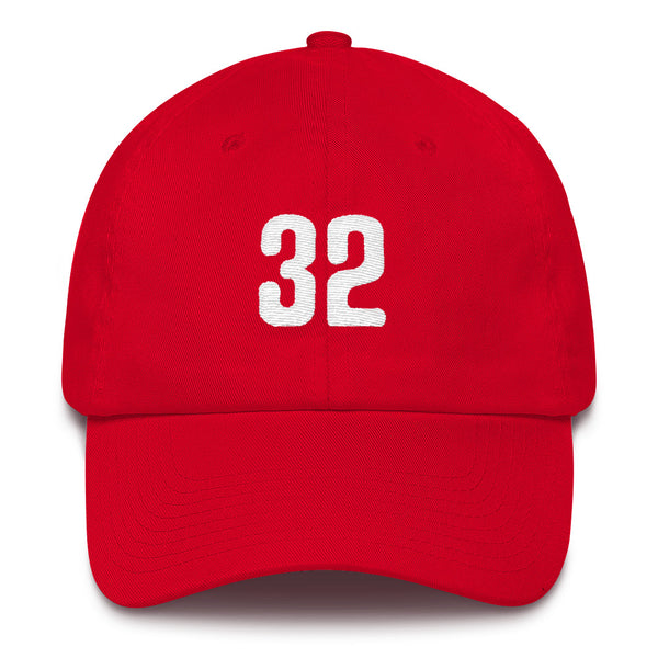 Steve Carlton #32 Dad Hat-Player Number Hat-Coverage Gear