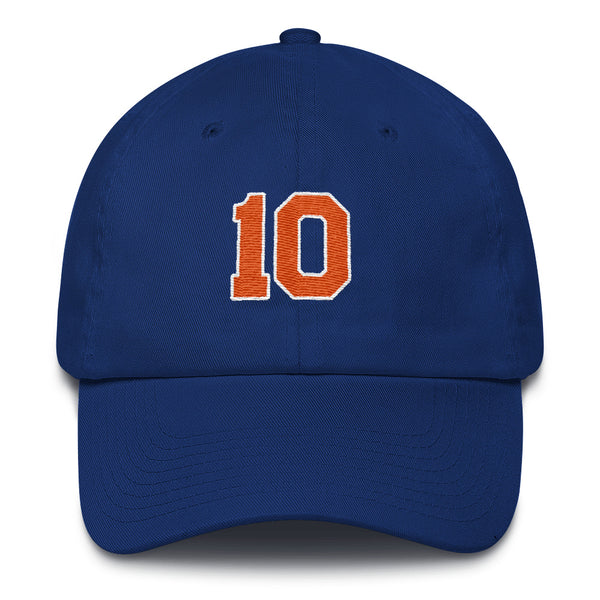 Walt Frazier #10 Dad Hat-Player Number Hat-Coverage Gear