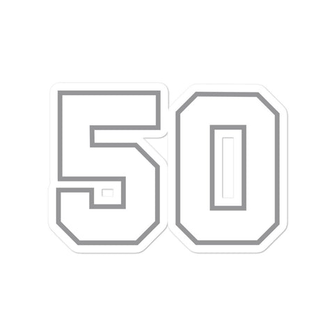 David Robertson #50 Sticker