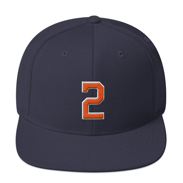 Alex Bregman #2 Snapback Hat-Player Number Hat-Coverage Gear