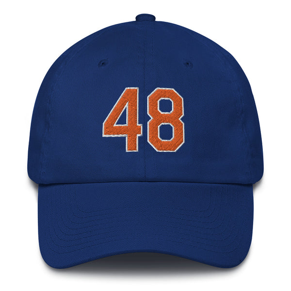 Jacob deGrom #48 Dad Hat-Player Number Hat-Coverage Gear