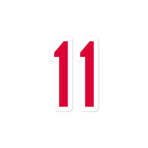 Jose Ramirez #11 Sticker