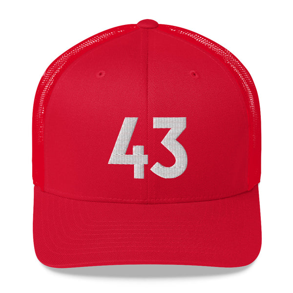 Pascal Siakim #43 Trucker Cap-Player Number Hat-Coverage Gear