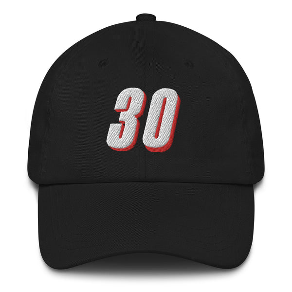 Rasheed Wallace #30 Dad Hat-Player Number Hat-Coverage Gear
