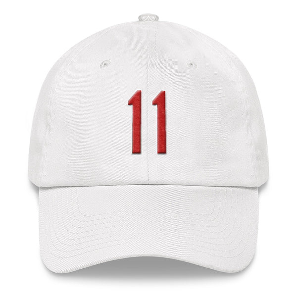 Jose Ramirez #11 Dad Hat-Player Number Hat-Coverage Gear