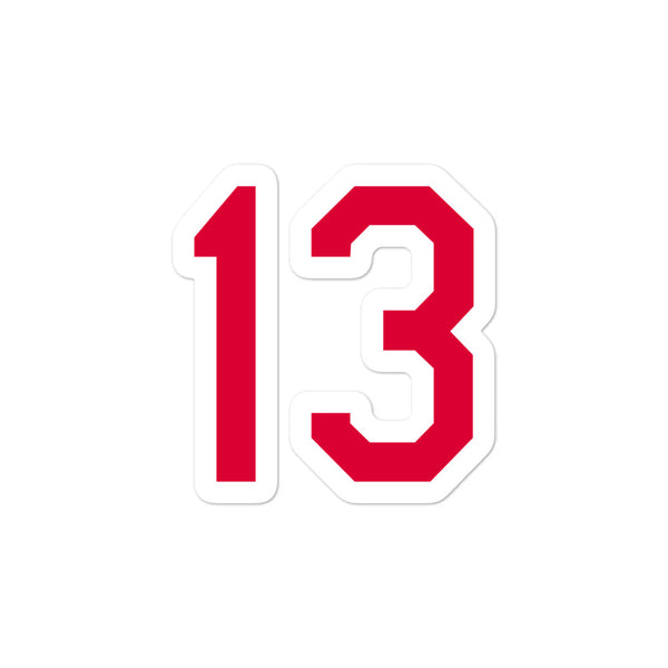 Omar Visquel #13 Sticker