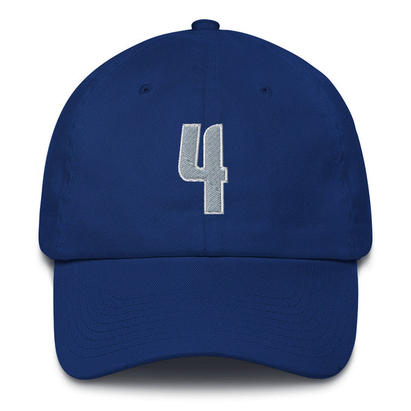 Michael Finley #4 Dad Hat-Player Number Hat-Coverage Gear