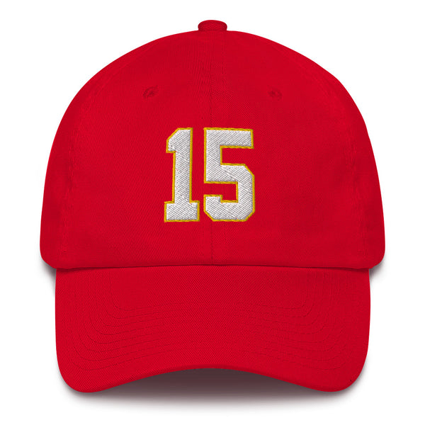 Pat Mahomes #15 Dad Hat