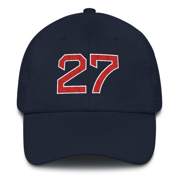 Carlton Fisk #27 Dad Hat-Player Number Hat-Coverage Gear
