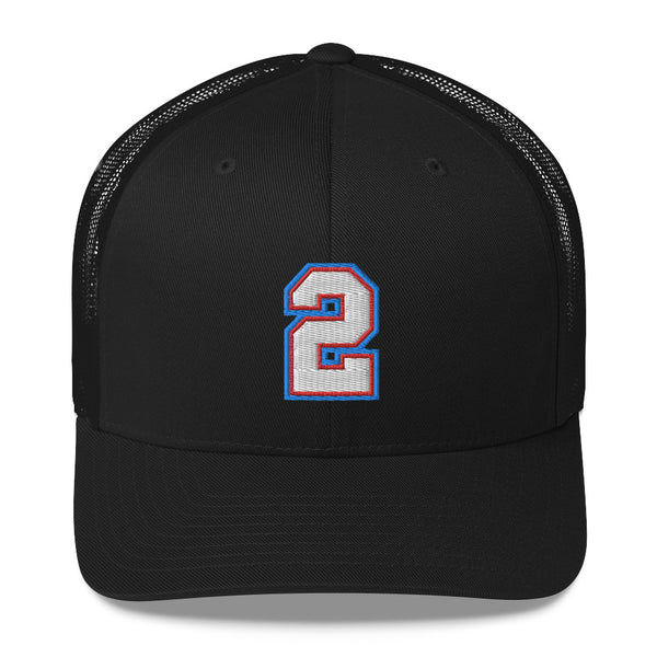Jason Williams #2 Trucker Cap-Player Number Hat-Coverage Gear