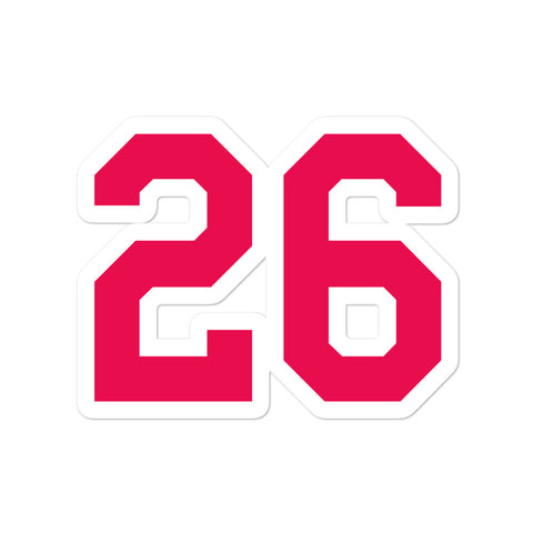 Max Kepler #26 Sticker