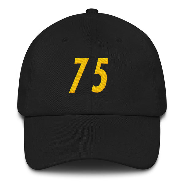 Joe Greene #75 Dad Hat-Player Number Hat-Coverage Gear