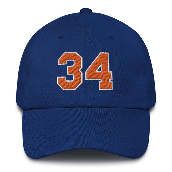 Charles Oakley #34 Dad Hat-Player Number Hat-Coverage Gear