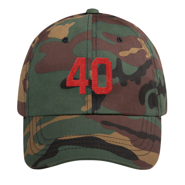 Pat Tillman #40 Dad Hat-Player Number Hat-Coverage Gear