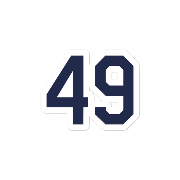 Brendan McKay #49 Sticker