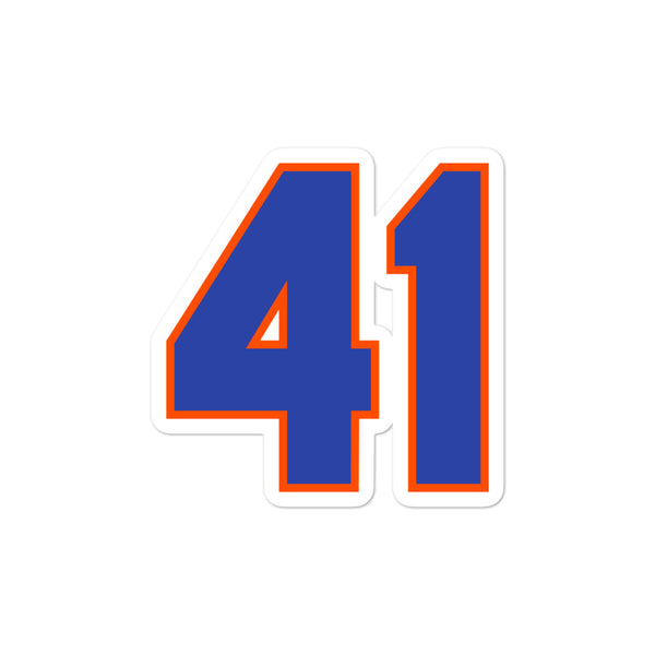 Tom Seaver #41 Sticker