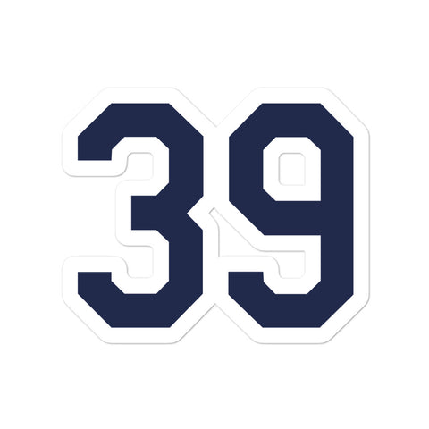 Kevin Kiermaier #39 Sticker