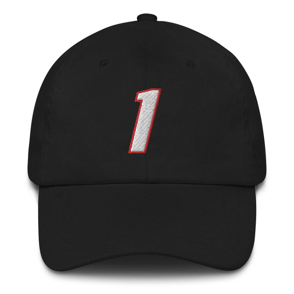 Chris Bosh #1 Dad Hat-Player Number Hat-Coverage Gear